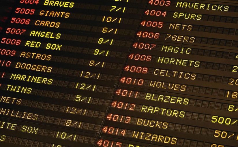 My Attempted Foray into SportsBetting